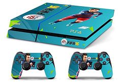 Skin PS4 HD FIFA 16 MESSI limited edition DECAL COVER ADESIVA