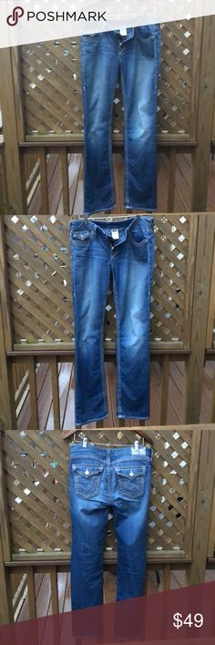 Hot 😘 Men's 32 True Religion Jeans Bootcut Soft! Smoke & Pet Free Always  Makes you look like a Rock Star ⭐️  Need I say more ;) True Religion Jeans Bootcut