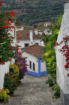Óbidos, Portugal http://www.sempreviajar.com.br/viagens-internacionais/viagem-para-fatima-agrada-catolicos/index.php