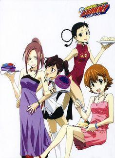 Akira Amano, Artland, Katekyo Hitman Reborn!, Yi Pin, Haru Miura