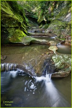 Fall Creek Gorge, Indiana, by The Knowles Gallery on flickr