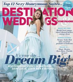Destination Weddings & Honeymoons Magazine, July August 2015 Edition, Garden Grand, Vintage Wedding Ideas, Purple Floral, Floral by Lee James Floral Designs