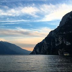 I am enjoying a nice walk by the shore in Riva del Garda during Love this place already! Riva Del Garda, Walking By, Italy, Mountains, Sunset, Nice, Places, Nature, Instagram Posts