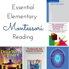 Essential reading to prepare you for Montessori at the elementary level