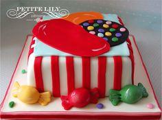Candy Crush cake / Bolo Candy Crush