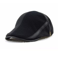 $9.57 Men Women Wool Knitting Newsboy Beret Caps Casual Outdoors Peaked Hat