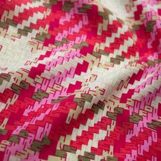 Coral Lattice Print on Peach Skin Fabric By the Yard Style 3207  This Peach skin fabric has a very beautiful Lattice Print. This peach skin fabric is very soft and smooth. It does not contain any stretchy feature. Use this fabric for making beautiful dresses, tops, skirts, shirts, decorations, upholstery and DIY Projects.  Need More? Please contact us with the quantity you need and we can create a listing for you. Price is per yard. Just add the quantity/yardage you need to your card and...