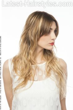 Playful Layered Hairstyle with Texture