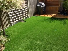 Goodbye Overgrown and Gravelly - Trulawn #ArtificialGrass Transformation