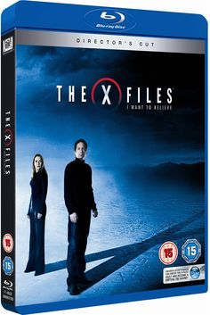 The X Files: I Want to Believe (2008) Blu-ray cover #gilliananderson #davidduchovny