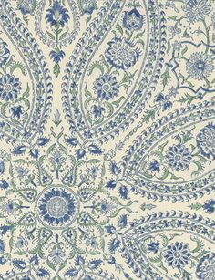 Paisley Circles - wallpaper from Sanderson
