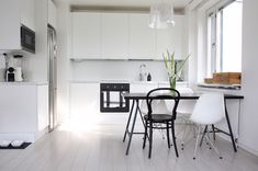You searched for Keittiö - Page 4 of 50 - Homevialaura Open Kitchen, Kitchen Dining, Dining Table, Marble Countertops, Nordic Style, My Dream Home, Modern Architecture, Ikea, Interior Design