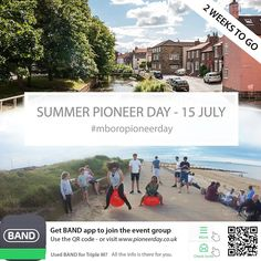 Less than 2 weeks and counting to our Middlesbrough Pioneer Day on Saturday July 15th. If you haven't already confirmed your attendance and the size of your group please could you do so in the next week - by commenting below in the BAND app or via text. We will have ministry arrangements at 9:30 1:00 and 3:30 - like last year we will be heading to Redcar beach for BBQ's Ice Creams and Space Hoppers. If you haven't already joined our event group for full info - download the free BAND app and…