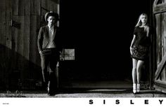 GBI ™: SISLEY FALL/WINTER 2014/15 CAMPAIGN PREVIEW. Models - Gigi Hadid / Simon Nessman