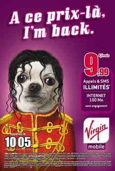 Nouvelle campagne Virgin Mobile : « A ce prix là, je reviens en France »