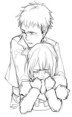 Jean x Armin is beyond adorable