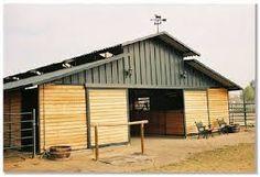pole barn ideas with raised loft - Google Search