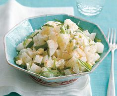 Jicama Salad with Lime Juice and Fresh Mint recipe