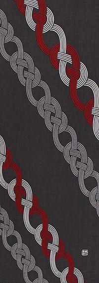 Japanese Textiles, Japanese Patterns, Japanese Fabric, Japanese Style, Textile Design, Fabric Design, Design Art, Pattern Design, Japan Design