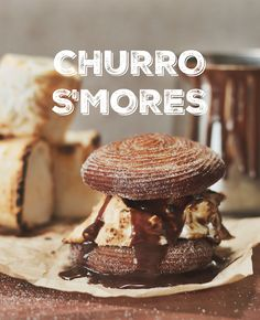 Churro S'mores exist and they are delicious.
