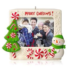 Recordable photo frame 2014 Christmas ornament from Hallmark - love you can record your own message
