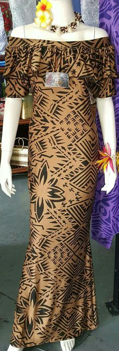 Island Wear, Island Outfit, Samoan Dress, Samoan Designs, Different Dresses, Event Dresses, Dress Patterns, African Fashion, Designer Dresses