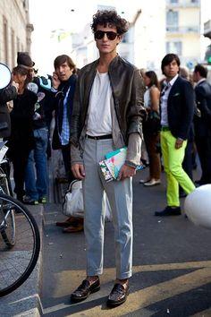 men street style #MensFashionVintage