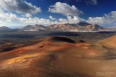Parque Nacional de Timanfaya, Isla de Lanzarote. Islas Canarias | Saul Santos Diaz - fotógrafo