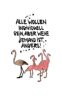 """Magnet Kühlschrankmagnet Spruch """"Alle wollen individuell sein..."""""""