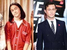 Joseph Gordon-Levitt, then and now. Who would have known?!
