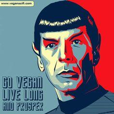 Vegan Star Trek