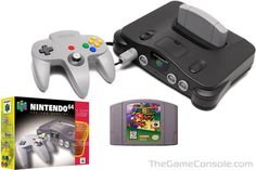 Nintendo 64 (1996)   Top 10 Video Game Consoles of All Time