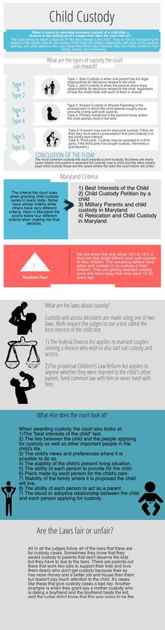 Child Custody Copy | @Piktochart Infographic