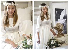 Vestidos de Primera Comunión de Teresa y Leticia