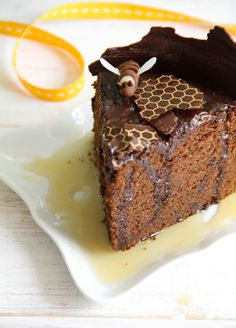 Sprinkle Bakes: Chocolate-Honey Cake