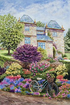 """""""English Country Garden"""" by Mary Irwin"""