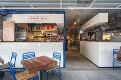 Imagen 1 de 26 de la galería de Mesa Nápoles Food hall / Estudio Atemporal. Fotografía de Luis Gallardo