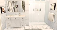 Benton Bathroom | Onyx Sims
