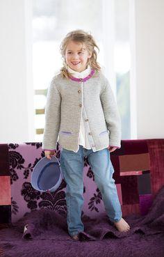 Lana Grossa TRACHTENJACKE CW Baby/Cool Wool - FILATI Kids & Babys No. 3 - Modell 41 | FILATI.cc WebShop