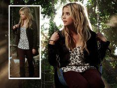 Hanna Marin and Bebe Sweet Skinny Jeans Photograph