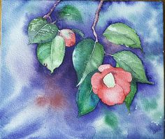 Camellia, Painting, Painting Art, Paintings, Painted Canvas, Drawings