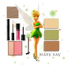Tinkerbell Mary Kay Color by taylormarie213 on Polyvore featuring polyvore, beauty and Mary Kay