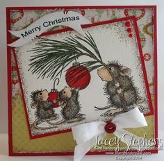 Deck the Halls from House Mouse. http://handstampedbylacey.typepad.com/my_weblog/2014/10/abc-christmas-challenge-t-is-for-tree-ornament.html