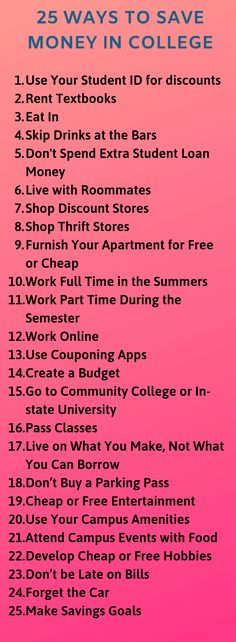 25 Tips to Start Saving Money in College Today 25 Actionable tips for saving money in college today! Many of these tips are small habits that you can take with you to save money for the years to come. Ways To Save Money, Money Saving Tips, Money Tips, College Life Hacks, College Tips, School Hacks, College Loans, College School, Finance