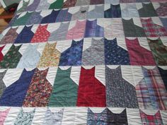Cat lover's quilt