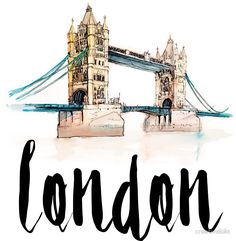 Read about my travel journey to London and everything that happened there! I spend a whole week in London, which was totally amazing! I loved the city and meandering around its streets. Voyage Sketchbook, London Drawing, London Sketch, London Poster, London Art, Creation Photo, Travel Illustration, London Illustration, Travel Drawing