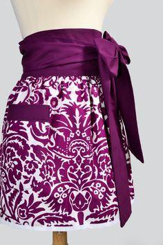 Purple delight apron
