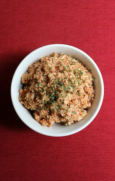 20. Tomato Basil Cauliflower Rice #paleo #dinner #recipes http://greatist.com/eat/paleo-recipes-easy-and-delicious-dinners