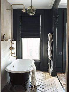 Jenna Lyons Brooklyn townhouse | Daily Dream Decor