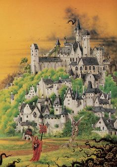 Warhammer Empire, Warhammer Art, Warhammer Fantasy, Fantasy World, Fantasy Art, High Middle Ages, Days Of Future Past, Fantasy Illustration, Fantasy Landscape
